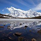Ice Lake, 4600m, Manang, Nepal by John Spies