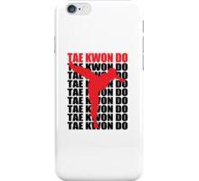 Tae Kwon Do iPhone Case/Skin