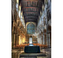 Rochester Cathedral interior   (2) Photographic Print