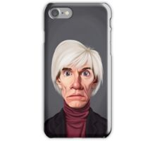 Celebrity Sunday -Andy Warhol iPhone Case/Skin