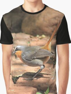 Cape Robin (Cossypha caffra) Graphic T-Shirt