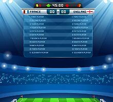 Football Stadium Background by aurielaki