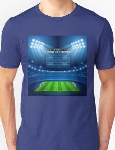 Football Stadium Background T-Shirt