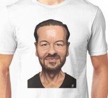 Celebrity Sunday - Ricky Gervais Unisex T-Shirt
