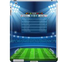 Football Stadium Background iPad Case/Skin