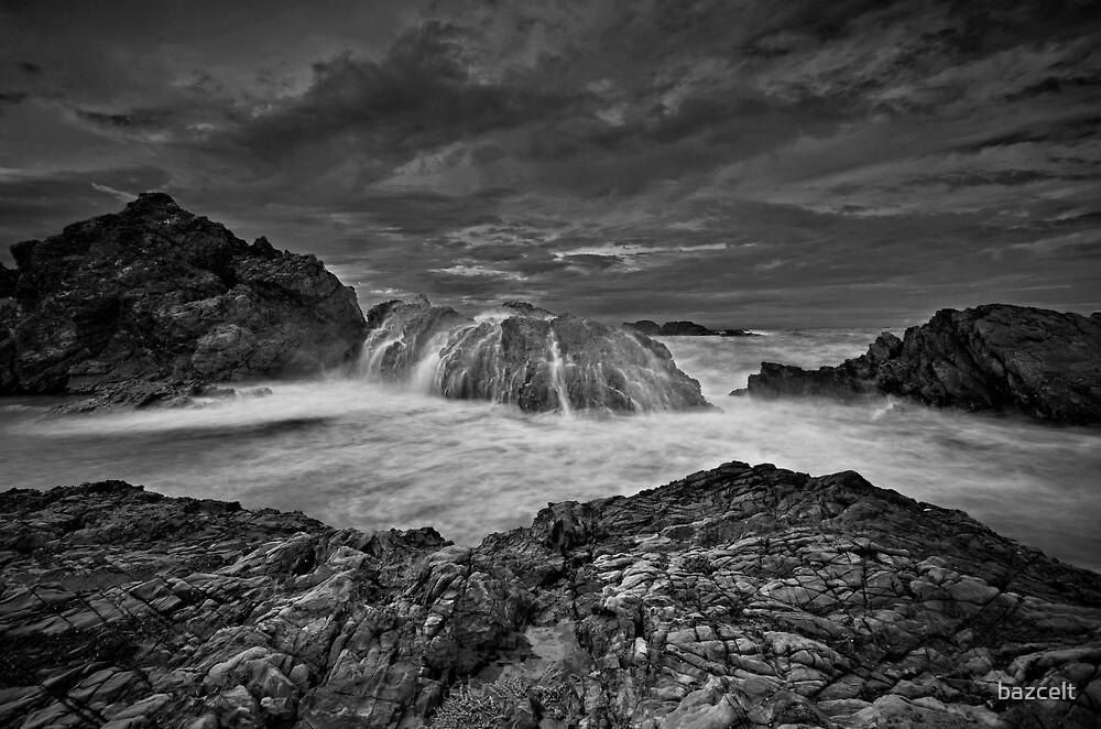 Serious Splash, Serious Sky Mono by bazcelt