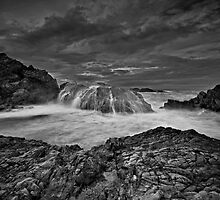 Serious Splash, Serious Sky Mono by bazcelt