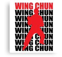 Wing Chun Canvas Print