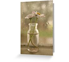Rainy Day Daisys Greeting Card