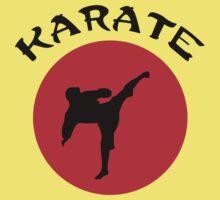 Karate Rising Sun Kids Tee