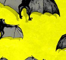 Bat Flying Fox remixed Y Sticker