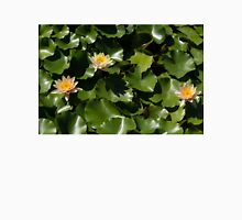 Exotic Colored Waterlilies in the Hot Mediterranean Sun T-Shirt