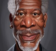 Celebrity Sunday - Morgan Freeman by robCREATIVE