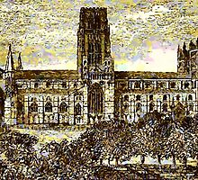 Beautiful Britain - Durham Cathedral 2 by Dennis Melling