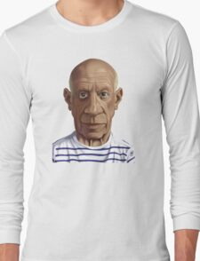 Celebrity Sunday - Pablo Picasso Long Sleeve T-Shirt