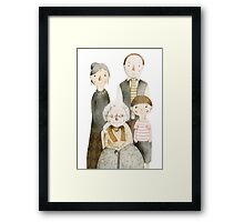 Family Portrait II Framed Print