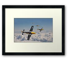 P51 Mustang - Mission Complete Framed Print
