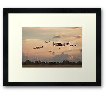 P51 Mustang  - Home to Roost Framed Print
