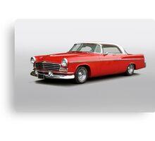 1956 Chrysler Windsor 'Highway Cruiser' Canvas Print