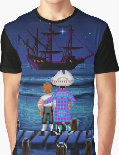 Guybrush & Stan (Monkey Island) Graphic T-Shirt