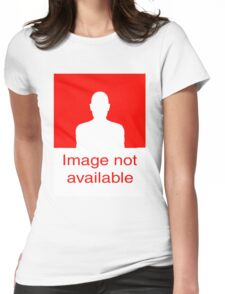 Image Not available: Red Womens Fitted T-Shirt