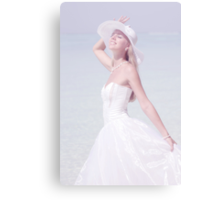 Ephemeral Moment.  Lady Elegance Canvas Print