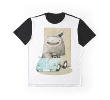 Monster In A Car Graphic T-Shirt