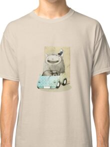 Monster In A Car Classic T-Shirt