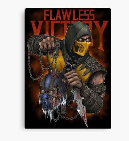 Scorpion: Flawless Victory Canvas Print