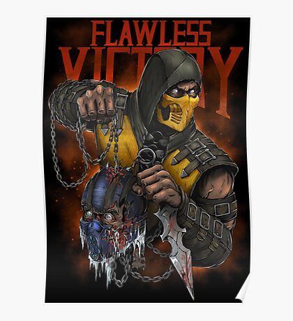 Scorpion: Flawless Victory Poster