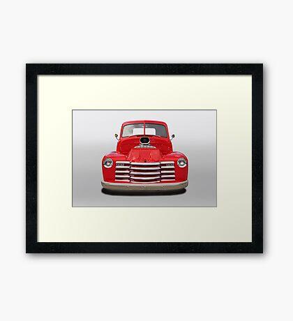 1953 Chevrolet 3100 Pickup Framed Print