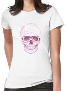 Cool skull Womens Fitted T-Shirt
