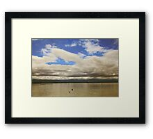 They're Calling For Rain Framed Print
