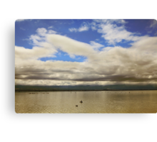 They're Calling For Rain Canvas Print