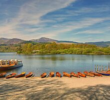 Keswick Boat Landings by Jamie  Green