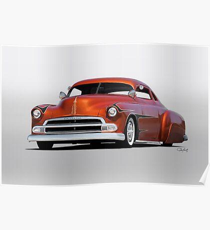 1951 Chevrolet Custom Coupe Poster