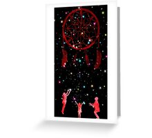 Catching Dreams Greeting Card