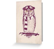 The aviator Greeting Card