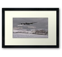 Lancaster - Wing and a Prayer Framed Print