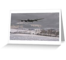 Lancaster - Wing and a Prayer Greeting Card