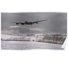 Lancaster - Wing and a Prayer Poster