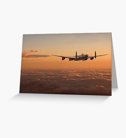 Lancaster - Homeward Greeting Card