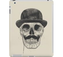 Gentlemen never die iPad Case/Skin