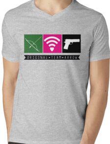 Original Team Arrow Mens V-Neck T-Shirt