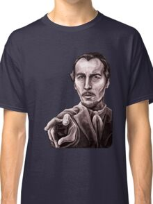 Christopher Lee - The Devil Rides Out Classic T-Shirt