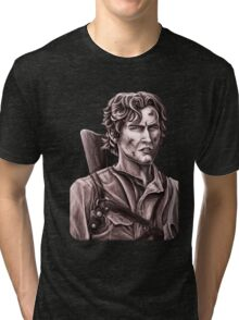 Bruce Campbell - Army of Darkness Tri-blend T-Shirt