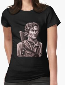 Bruce Campbell - Army of Darkness Womens Fitted T-Shirt