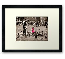 Oh Mom and Dad,  It's So Much Fun! Framed Print