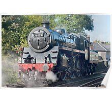 Steam train NYMR  Poster