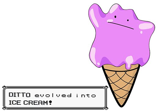 Ditto Evolves by AndrewPS3Panda